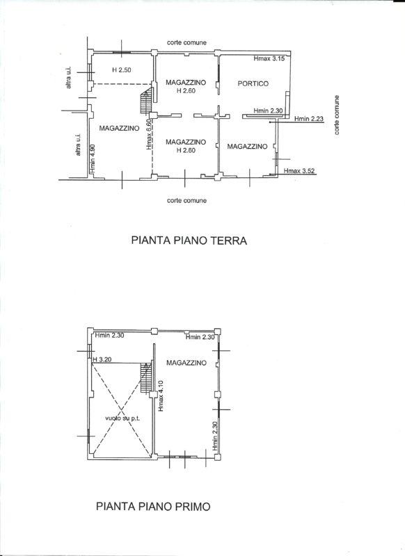 planimetria rustico