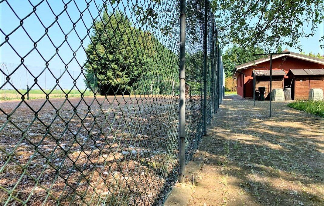 campo calcetto/tennis
